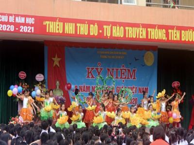 Hân hoan chào mừng Ngày nhà giáo Việt Nam