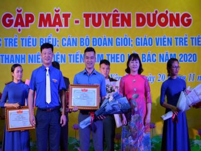 Yên Bái: Gặp mặt, tuyên dương trí thức trẻ tiêu biểu, cán bộ Đoàn giỏi, giáo viên trẻ tiêu biểu, thanh niên tiên tiến làm theo lời Bác năm 2020