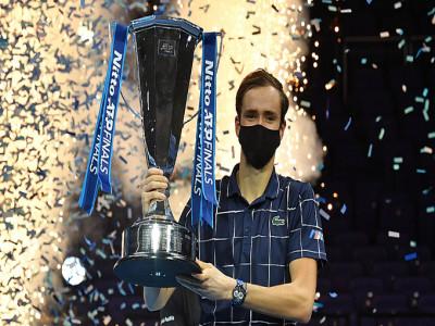 Medvedev vô địch ATP Finals