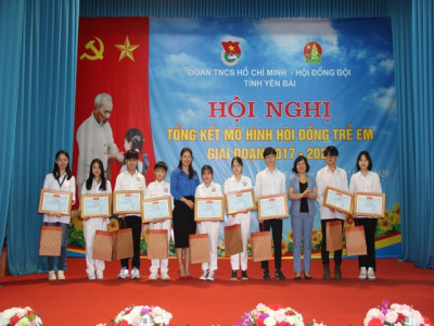 Tổng kết mô hình Hội đồng trẻ em tỉnh Yên Bái giai đoạn 2017 – 2020