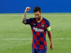 Man City có thể dừng theo đuổi Messi