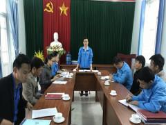 Huyện đoàn Thanh Sơn tổ chức kiểm tra công tác Đoàn và phong trào thanh thiếu nhi năm 2020
