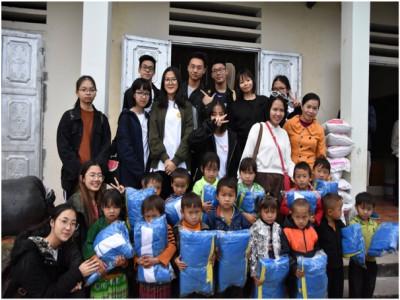 CLB IDo trường THPT FPT – Những bạn trẻ tập tành làm việc thiện