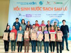Karofi tặng 500 máy lọc nước chuyên dụng cho người dân miền Trung
