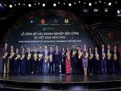 Vinamilk thuộc Top doanh nghiệp bền vững của Việt Nam lần thứ 5 liên tiếp