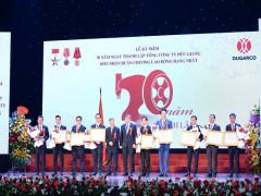 Tổng công ty Đức Giang kỷ niệm 30 năm thành lập và đón nhận Huân chương Lao động Hạng Nhất