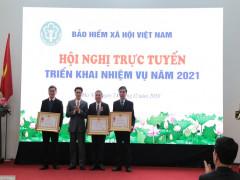 BHXH Việt Nam tổ chức Hội nghị trực tuyến  triển khai nhiệm vụ công tác năm 2021