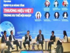 """Tọa đàm """"Định vị và nâng tầm Thương hiệu Việt trong xu thế hội nhập"""""""