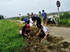 Mô hình bảo vệ môi trường xã An Điền, tỉnh Bến Tre góp phần Xanh - Sạch - Đẹp xây dựng xã nông thôn mới