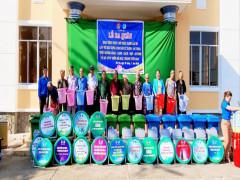 Một số hoạt động của Câu lạc bộ tuyên truyền viên Bảo vệ môi trường xã Phú Thọ, huyện Tam Nông, Đồng Tháp