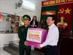 Lãnh đạo Đảng, Nhà nước thăm, chúc Tết tại một số địa phương