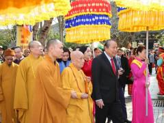 Phó Thủ tướng Thường trực dự khai hội chùa Bái Đính 2020