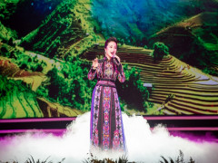 Giọng ca cao vút với âm sắc đẹp góp mặt tại chương trình nghệ thuật