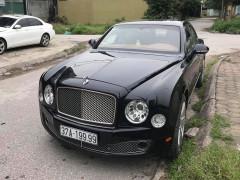 Bentley Mulsanne mang siêu biển tứ quý 9 ở Nghệ An