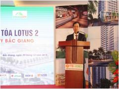 Dòng tiền khủng thu về sau lễ mở bán căn hộ toà Lotus 2 Green City Bắc Giang