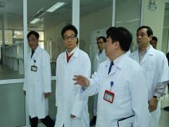 Phó Thủ tướng Vũ Đức Đam kiểm tra phòng, chống dịch viêm hô hấp cấp