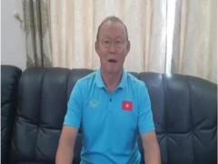 LV Park Hang Seo gửi lời chúc Tết người hâm mộ bóng đá Việt Nam