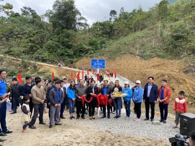 Yên Bái: Khánh Thành 2 cầu cho đồng bào dân tộc thiểu số vùng khó khăn huyện Văn Yên