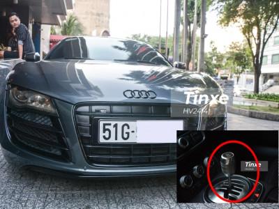 Mùng 1 Tết, cùng làm quen với siêu xe Audi R8 số sàn duy nhất Việt Nam độ body kit trăm triệu đồng
