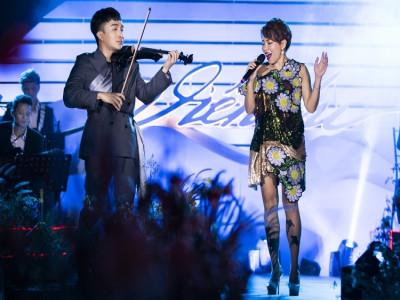 Hà Trần 'phiêu' cùng nghệ sĩ Hoàng Rob