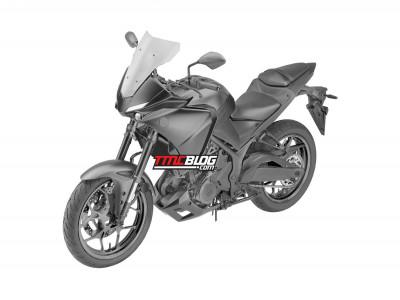 Xe Sport Adventure Yamaha Tracer 250 lộ thiết kế tuyệt đẹp