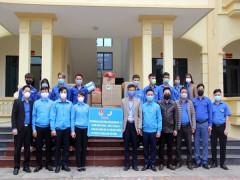 Chung tay hỗ trợ nhân dân Bình Xuyên phòng, chống dịch bệnh Covid -19