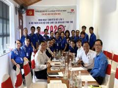 Co.opmart Phú Thọ (quận 11) tổ chức Hội nghị Cán bộ chủ chốt năm 2020