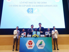 Bamboo Airways tài trợ 50 tỉ, tiếp tục đồng hành với Cúp Quốc gia 2020