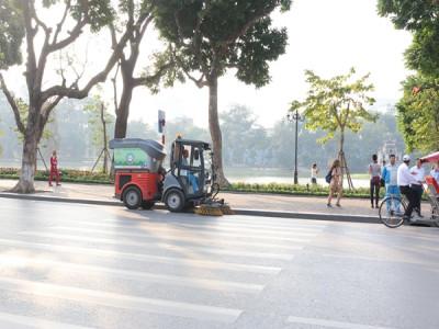 Urenco nỗ lực mỗi ngày cùng người dân Thủ đô xây dựng diện mạo mới của Thành phố Xanh – Sạch – Đẹp