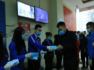 Tuổi trẻ Thủ đô Tổ chức tuyên truyền phòng chống dịch bệnh viêm đường hô hấp cấp do virus Corona