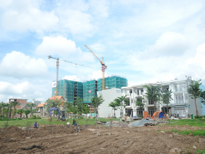 Chung cư mới cho thuê khó cạnh tranh khách với dự án cũ