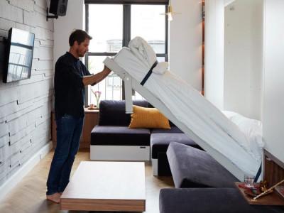 Căn hộ nhỏ 33m2 như rộng gấp đôi nhờ nội thất đa năng