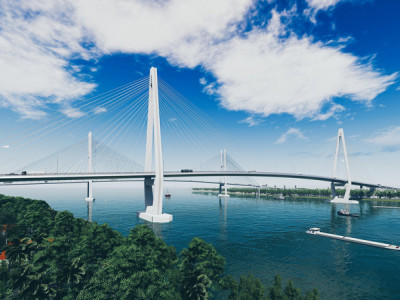Tiền Giang: Khởi công xây dựng cầu Mỹ Thuận 2 vào 27/2