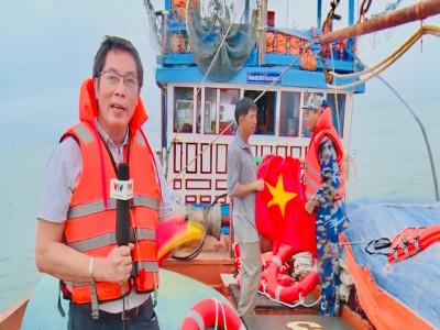 """Nhà báo Trọng Ninh- """"ngòi bút thép"""" nơi đầu sóng!"""
