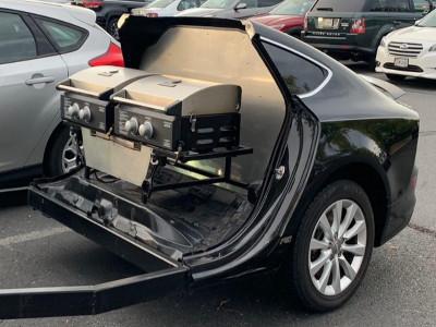 Hài hước cảnh xe sang Audi A7 biến thành