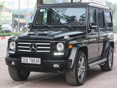 Mua bán Mercedes-Benz G55 AMG nhanh gọn nhờ biển