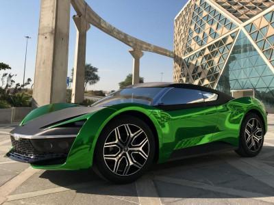 GFG Style 2030 - Concept xe thể thao mang dấu ấn Ả Rập có thể chạy 200 km/h trên