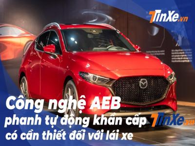 Phanh tự động khẩn cấp - tính năng bị tố lỗi của Mazda3 2020 - là gì?