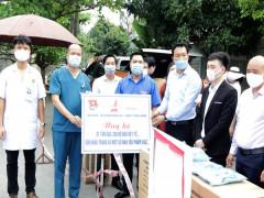 Tỉnh đoàn Quảng Ninh thăm, ủng hộ vật phẩm hỗ trợ công tác phòng, chống dịch Covid – 19