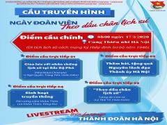 Thành Đoàn Hà Nội tổ chức cầu truyền hình trực tuyến