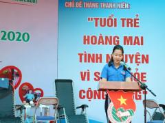 Quận đoàn Hoàng Mai: Khởi động Tháng Thanh niên 2020 với nhiều hoạt động ý nghĩa