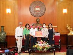 Hà Nội: Trường THPT Trí Đức ủng hộ 500 triệu đồng chống COVID-19