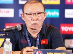 HLV Park Hang Seo dự khán trận Sài Gòn FC với SLNA