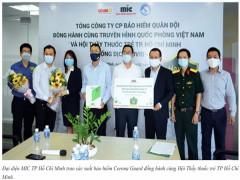 """Bệnh viện quận 2, TP.Hồ Chí Minh:  Trao tặng hơn 300 triệu đồng cho """"chiến sĩ áo trắng"""" tham gia tuyến đầu chống dịch Covid-19"""