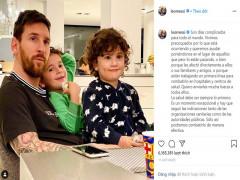 Nối bước Ronaldo, Messi lên tiếng kêu gọi phòng chống dịch Covid-19
