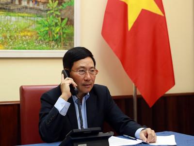 Nhật Bản sẽ hỗ trợ Việt Nam chống COVID-19