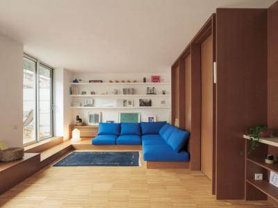 Thiết kế nội thất thông minh trong căn hộ 70m2