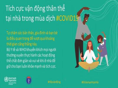 Hướng dẫn vận động tại nhà để khỏe mạnh chống dịch Covid-19