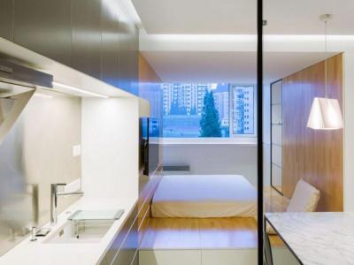 Tư vấn thiết kế căn hộ nhỏ 30m2 cho người độc thân vừa thoáng vừa sáng