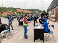 Quảng Ninh: 4.000 ĐVTN ra quân ngày đầu thực hiện cách ly toàn xã hội